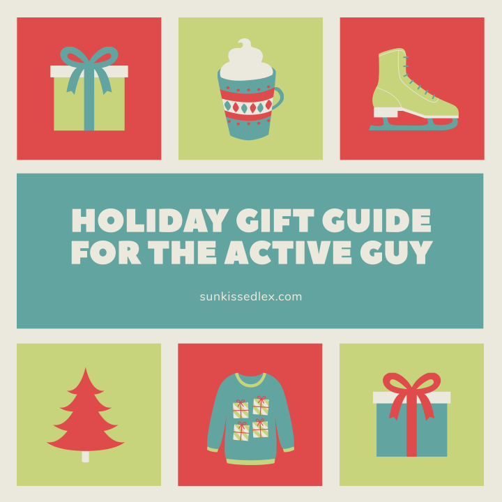 Holiday Gift Guide for the Active Guy